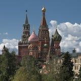 Rosja, Moskwa, widok na Kremlin Obraz Royalty Free