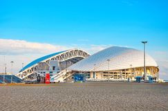 Rosja, Października 2 2018 Sochi Olimpijski park - Stadium arena Fisht Sochi obraz royalty free