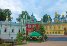 Rosja, Pechory Jama monaster Zdjęcia Stock