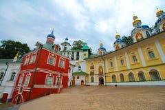 Rosja, Pechory Jama monaster Zdjęcia Royalty Free
