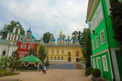 Rosja, Pechory Jama monaster Zdjęcie Stock