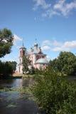 Rosja, Pereslavl. Kościelnych czterdzieści Męczenników zdjęcia stock