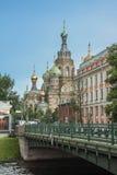 Rosja, Petersburg, świątynia Obraz Royalty Free