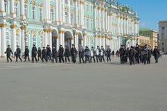 Rosja, Petersburg, 28 2017 Kwiecień - próba victo Zdjęcia Stock