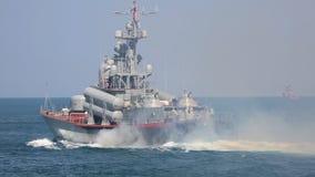 Rosja - pocisk łódź zdjęcie wideo
