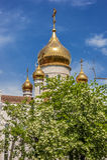 Rosja, Rostov Don Kościół St Dimitri, metropolita Obrazy Stock