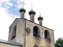 Rosja rostov Rostovsky Borisoglebsky monaster Obraz Stock