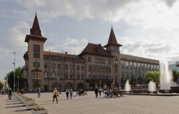 Rosja, Saratov stanu konserwatorium zwany L V Sobinov 25 05 201 zdjęcie stock