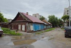 Rosja, Saratov 25 05 2016 starych miasteczk obraz stock
