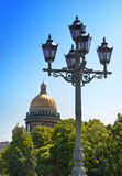 Rosja. St. Petersburg.  Isaakievsky katedra. Zdjęcie Stock