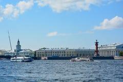 Rosja, St Petersburg lata czasu sceniczny widok fotografia stock
