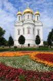 Rosja, St Petersburg miasto Pushkin Lipiec, 13,2018 W fotografii katedrze St Catherine, obrazy royalty free