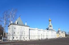 Rosja Vologda, Kremlevskaya kwadrat w wio?nie zdjęcia royalty free