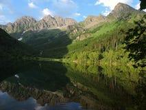 Rosja, Zachodni Kaukaz Jeziorny Kardyvach Obrazy Stock