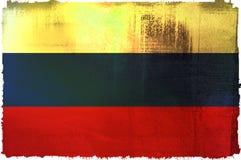 rosjanin bandery Fotografia Royalty Free