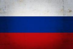 Rosjanin flaga Zdjęcie Royalty Free