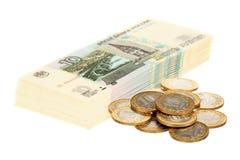 rosjanin gotówkowy rocznica pieniądze Zdjęcie Stock