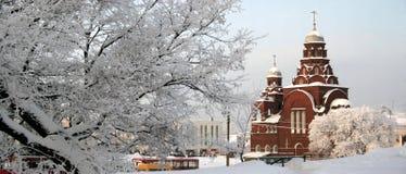 rosjanin krajobrazu Obrazy Royalty Free