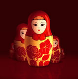 rosjanin matrioshka Obraz Stock