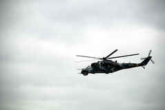 Rosjanin Mi-24 Obrazy Royalty Free