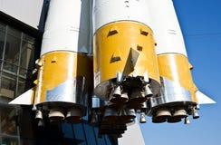 rosjanin przestrzeń rakiet Obraz Royalty Free