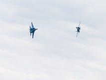 Rosjanin Su-27 Zdjęcie Stock