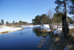 Rosjanina krajobraz Zdjęcie Stock