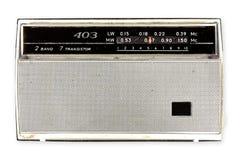 Rosjanina stary radio zdjęcie stock