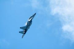 Rosjanina strajkowy wojownik MIG-29 Zdjęcia Royalty Free