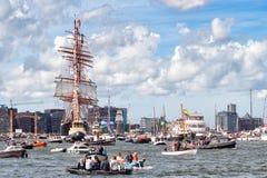 Rosjanina STS Sedov wysoki statek Zdjęcia Royalty Free