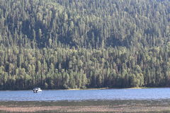 Rosjanina Syberia góra Altai Fotografia Royalty Free