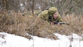 Rosjanina szpieg w przyczajeniu Zdjęcia Stock