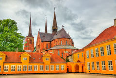 Free Roskilde Cathedral, A UNESCO Heritage Site In Denmark Royalty Free Stock Photos - 78913928