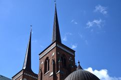 Roskilde cathedral Stock Photo