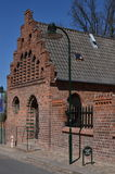 Roskilde cathedral Royalty Free Stock Images