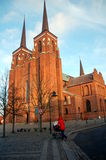 Roskilde Cathedral, Denmark. Royalty Free Stock Images