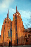 Roskilde Cathedral, Denmark. Stock Photography