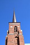 Roskilde cathedral Royalty Free Stock Photo