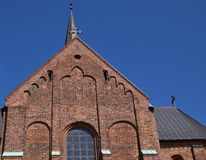 Roskilde cathedral Stock Images