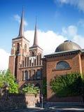 Roskilde katedra Zdjęcia Stock