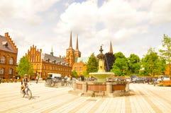 Roskille,丹麦 免版税图库摄影
