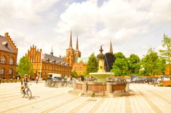 Roskille, Dinamarca fotografia de stock royalty free