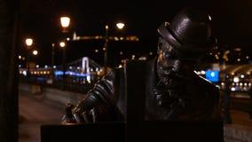 Roskovics Ignac staty i Budapest Royaltyfria Foton