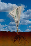 rosnąca pieniądze ilustracji