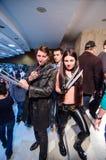 Rosomak i X-23 cosplay Obraz Royalty Free