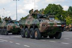 Rosomak - véhicule de combat d'infanterie Images libres de droits