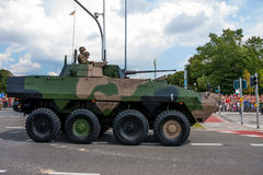 Rosomak - Wheeled Armored Vehicle Royalty Free Stock Photography