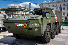 Rosomak - Wolverine - armored ambulance Royalty Free Stock Photos
