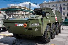 Rosomak - Wolverine - armored ambulance Royalty Free Stock Photos