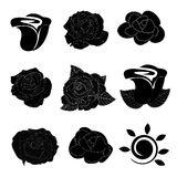 Rosor royaltyfri illustrationer
